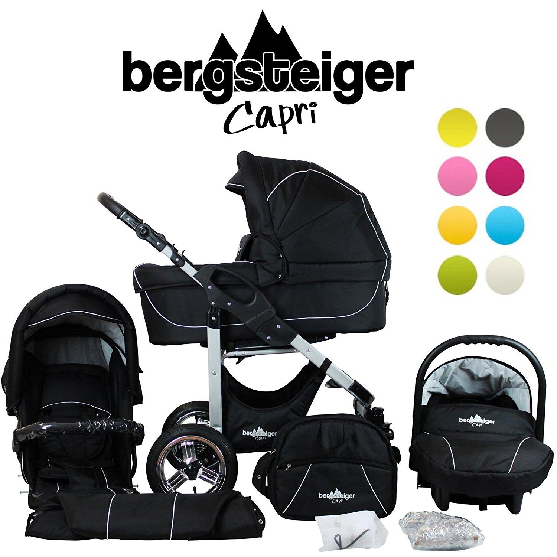 Kinderwagen Test, Bergsteiger Capri, Kinderwagen Empfehlung
