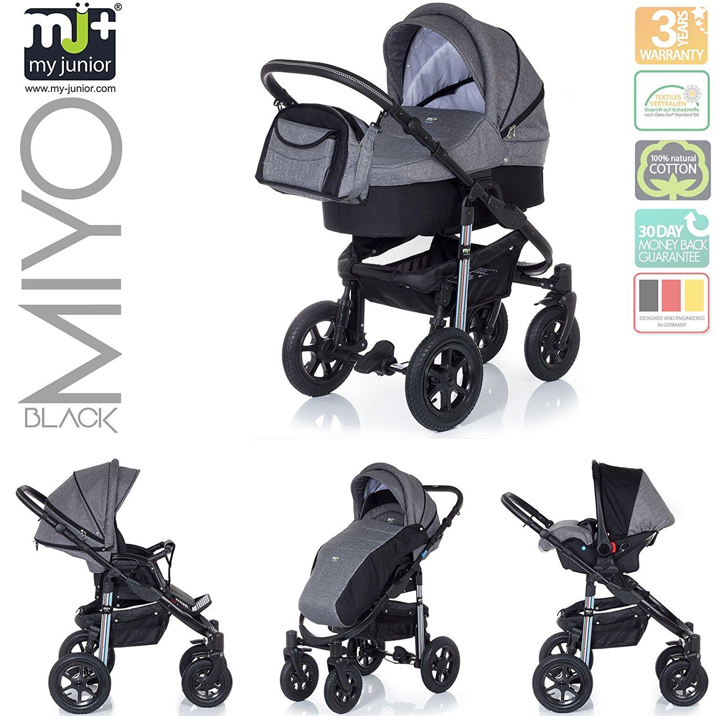 Kinderwagen Test, My Junior+ Myio, Kinderwagen Empfehlung, Babywanne, Buggy